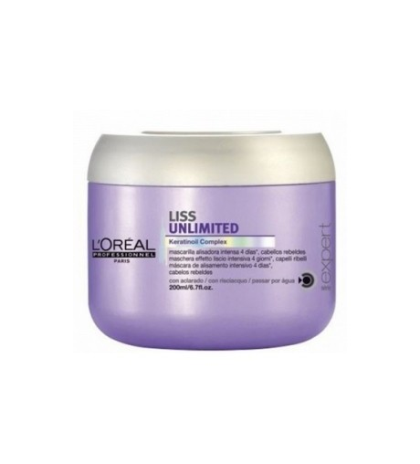 Mascarilla Loreal expert Liss unlimited