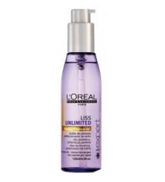 Loreal, aceite de peinado Liss unlimited de 125ml
