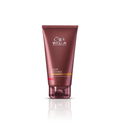 wella,care recharge-acondicionador para cabellos castaños 200ml