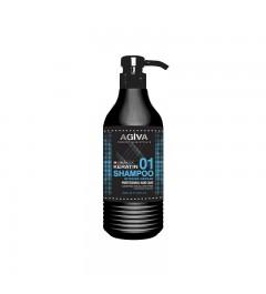 Agiva hair shampoo keratin complex
