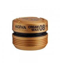Agiva cream wax 08 pomade/shine finish medium control de 175ml