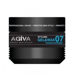 Agiva hair gel &wax de 500ml