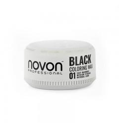Novon cera coloring wax black de 100ml